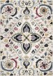 Product Image of Floral / Botanical Off White, Black, Green Area Rug
