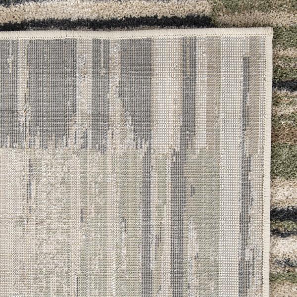 Beige, Grey Contemporary / Modern Area Rug