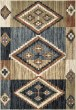Product Image of Beige, Grey, Brown Southwestern / Lodge Area Rug