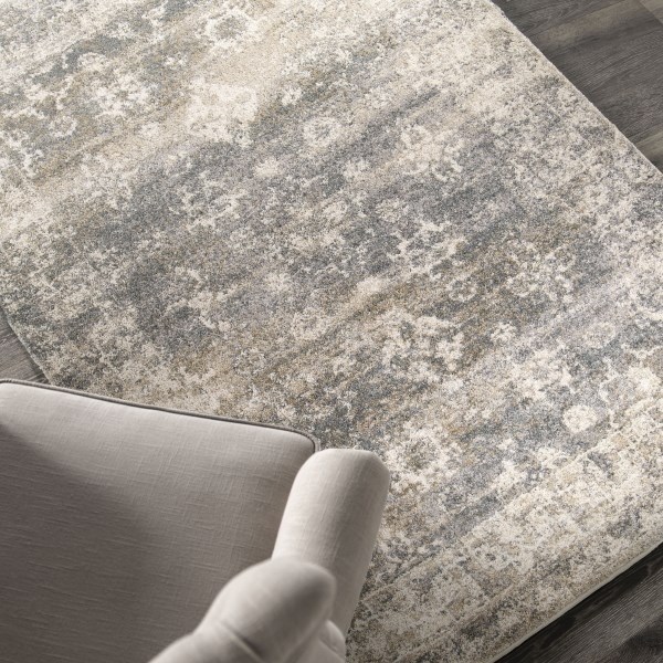 Off White, Beige, Gray (9211) Vintage / Overdyed Area Rug