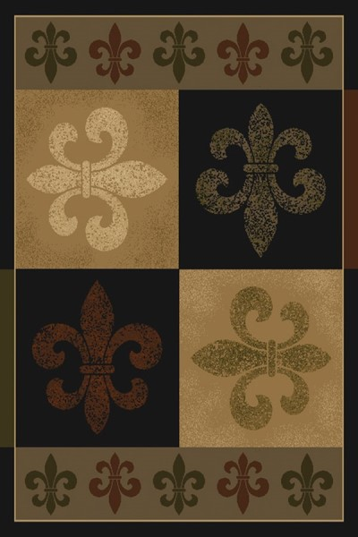Olive (550-35845) Contemporary / Modern Area Rug