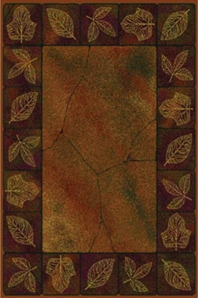 Gold (530-20934) Floral / Botanical Area Rug