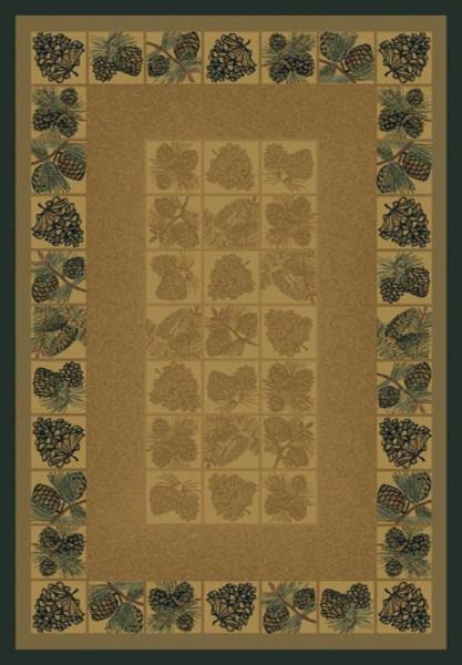 Natural (530-43717) Southwestern / Lodge Area Rug