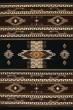 Product Image of Southwestern / Lodge Black (940-36070) Area Rug