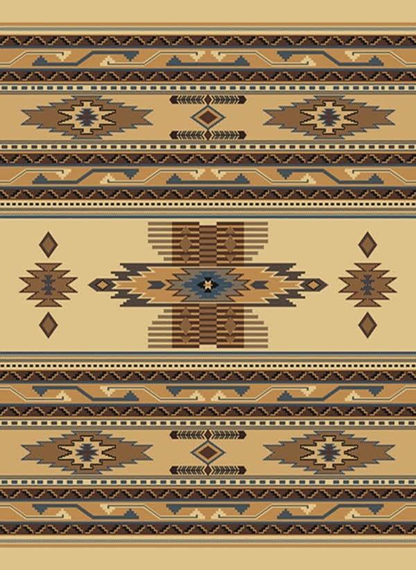Berber (940-36014) Southwestern / Lodge Area Rug