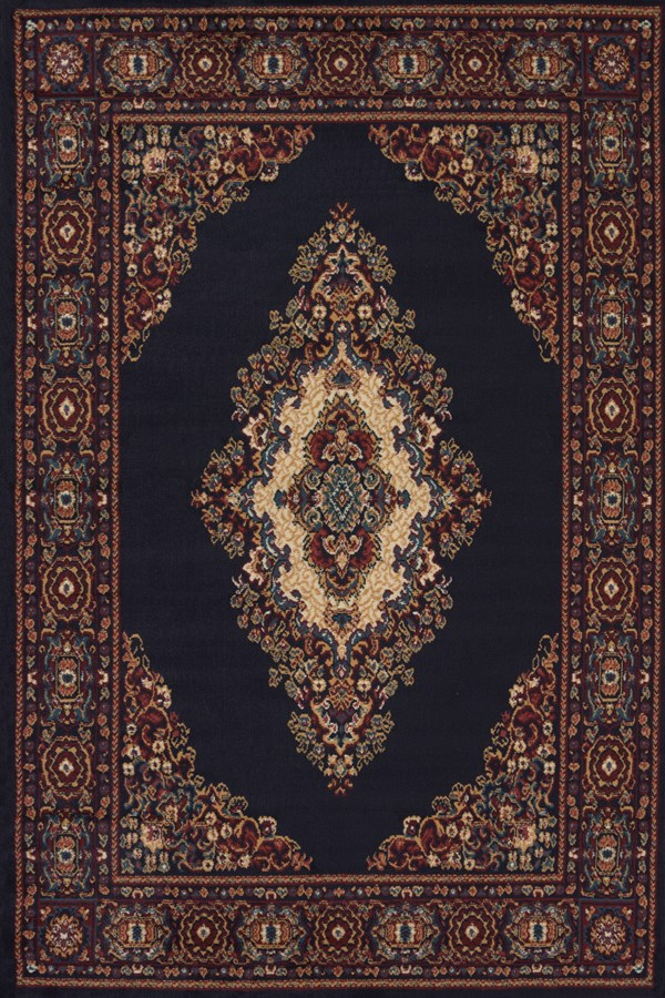 Navy (940-35364)  Traditional / Oriental Area Rug