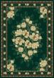 Product Image of Floral / Botanical Hunter Green (940-37042)  Area Rug