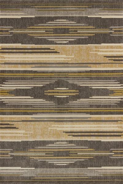 Grey, Beige (702-28672) Southwestern / Lodge Area Rug