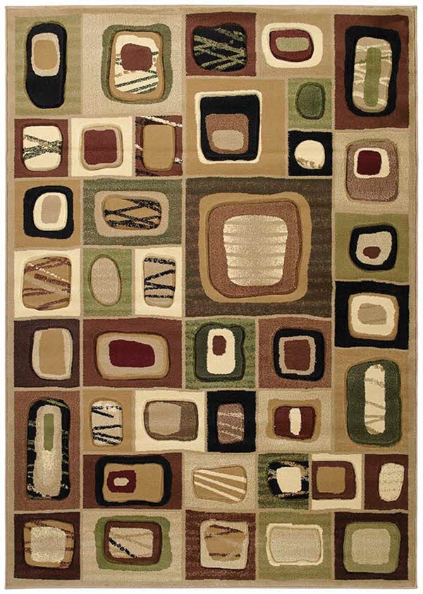 Toffee (510-23359) Contemporary / Modern Area Rug