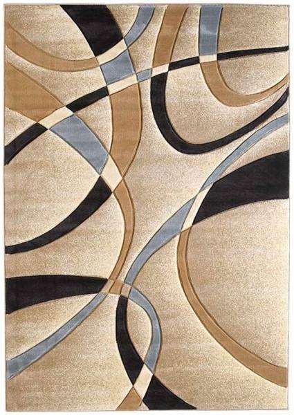 Beige (510-21326) Contemporary / Modern Area Rug