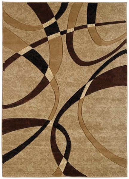 Chocolate (510-21351) Contemporary / Modern Area Rug