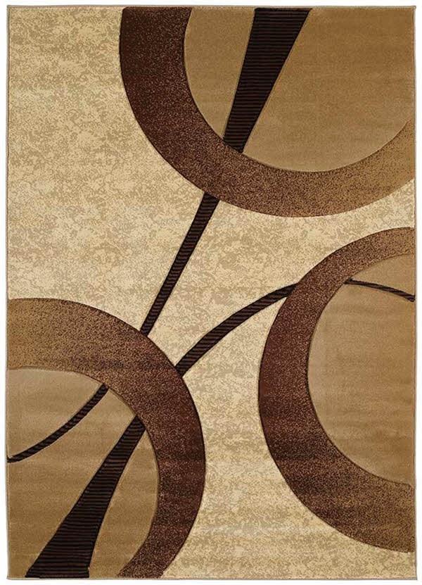 Beige (510-22026) Contemporary / Modern Area Rug