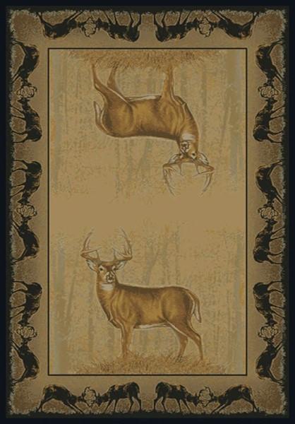 Natural (534-47317) Southwestern / Lodge Area Rug