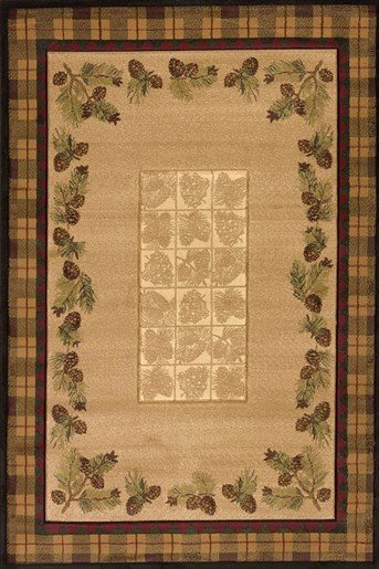 Designer Contours Winter Pines arearugs