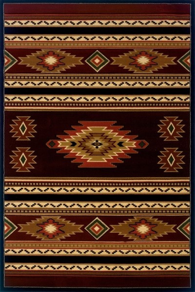Terracotta (511-25929) Southwestern / Lodge Area Rug