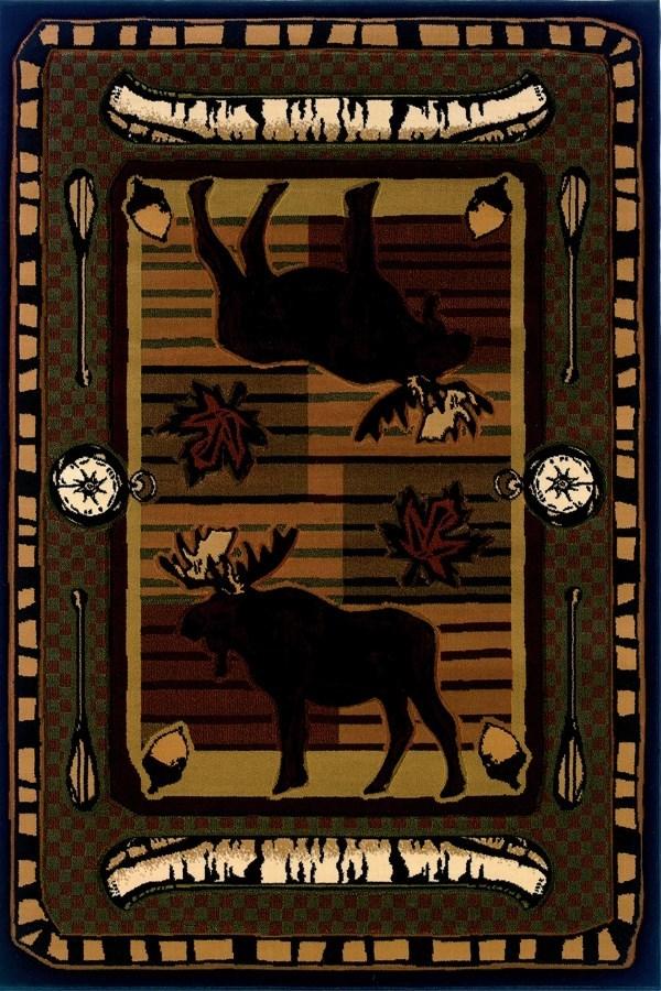 Terracotta (512-25729) Animals / Animal Skins Area Rug