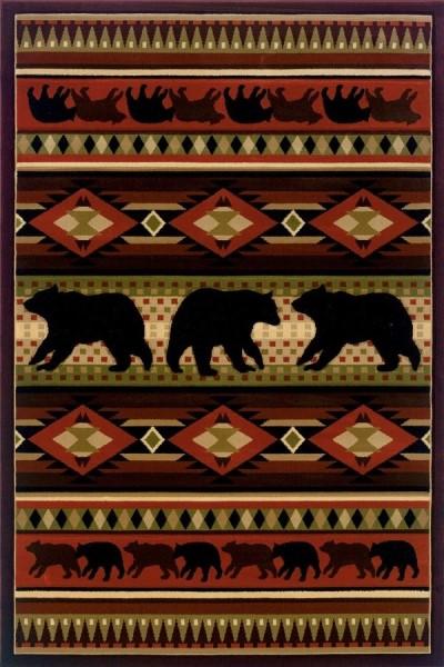 Terracotta (512-25829) Southwestern / Lodge Area Rug