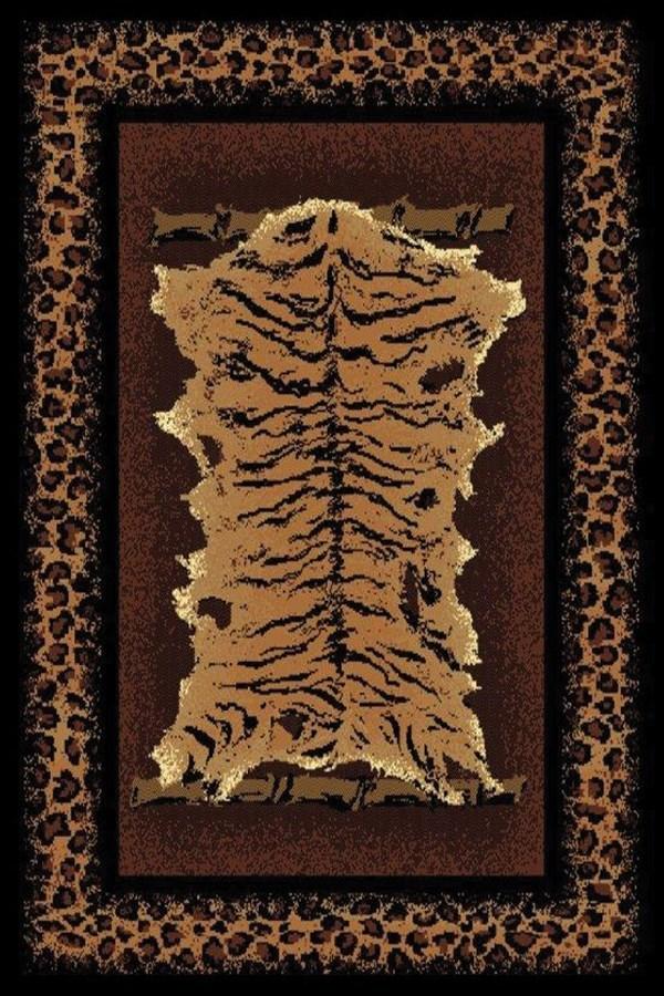 Brown (910-03950) Contemporary / Modern Area Rug