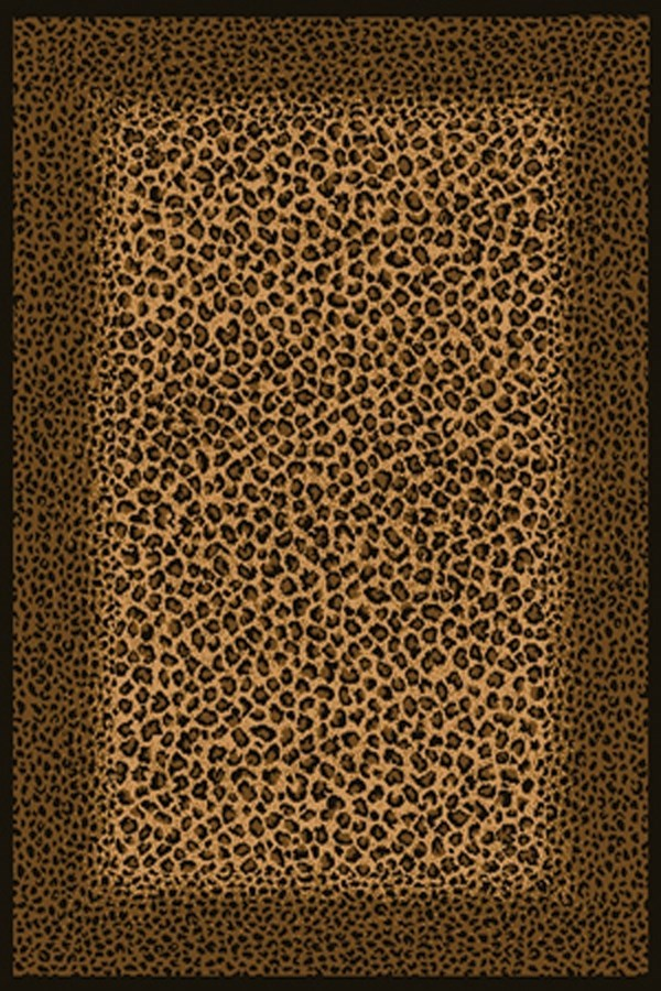 Brown (910-04050) Contemporary / Modern Area Rug