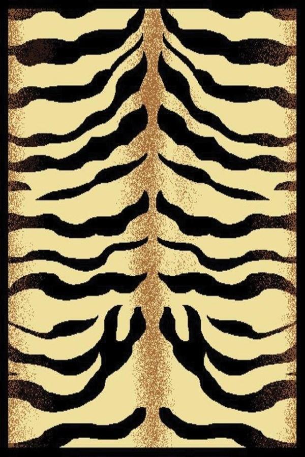 Brown (910-04150) Contemporary / Modern Area Rug