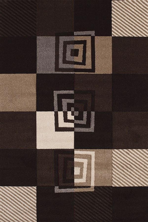 Black (401-00470) Contemporary / Modern Area Rug