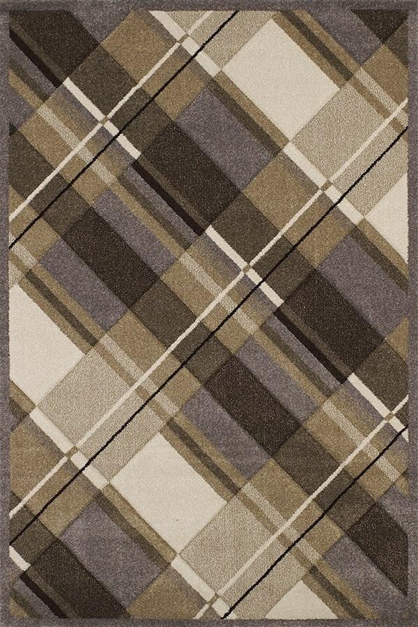 Grey (401-01572) Contemporary / Modern Area Rug