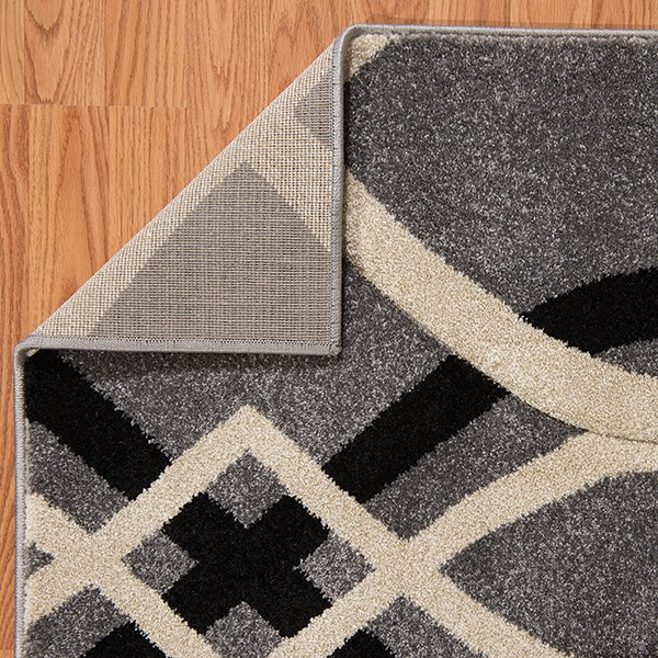 Grey (401-02372) Geometric Area Rug