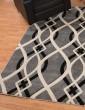 Product Image of Grey (401-02372) Geometric Area Rug