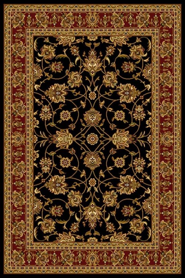 Black (750-00870) Traditional / Oriental Area Rug