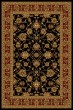 Product Image of Traditional / Oriental Black (750-00870) Area Rug
