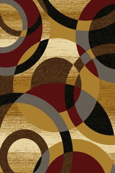 Gold (750-00918) Contemporary / Modern Area Rug