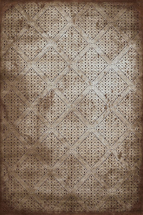 Light Brown, Ivory (1800-40552) Transitional Area Rug