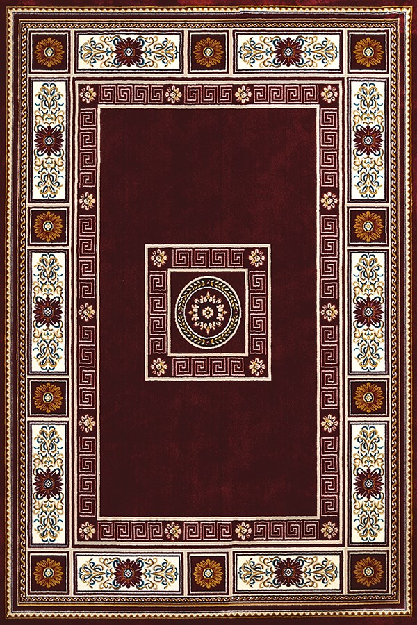 Ruby, Ivory (1900-01039) Traditional / Oriental Area Rug