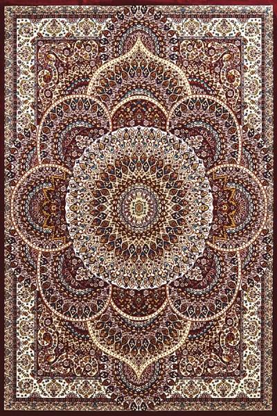Ruby, Tan (1900-01239) Mandala Area Rug