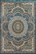 Product Image of Mandala Cerulean, Tan (1900-01262) Area Rug