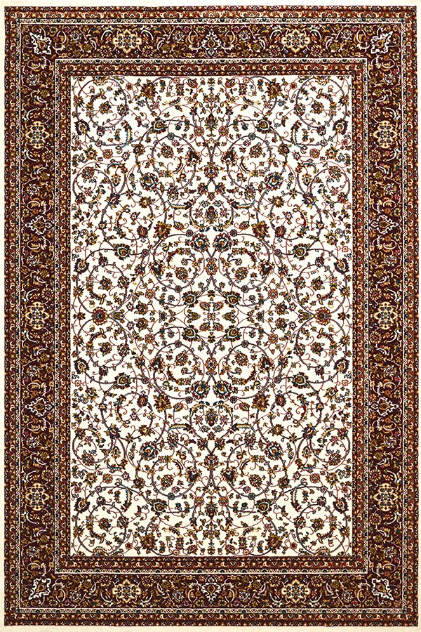 Ivory, Brown (1900-01415) Traditional / Oriental Area Rug
