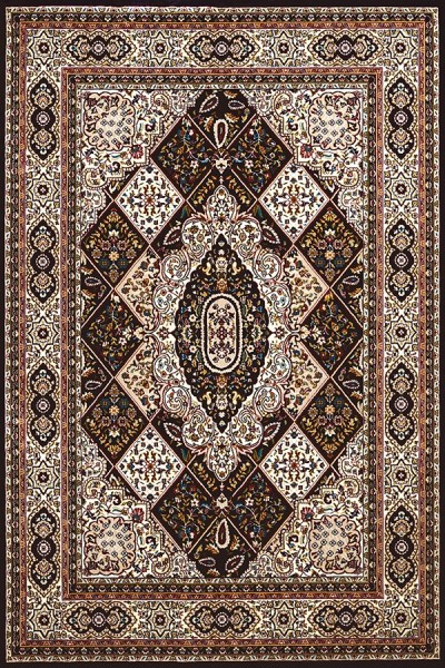 Navy, Tan (1900-01764) Traditional / Oriental Area Rug