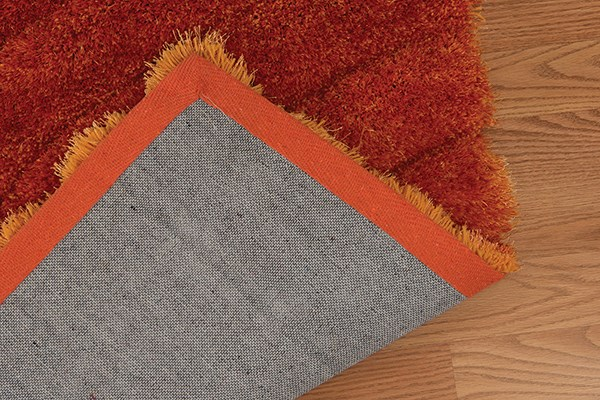Burnt Orange (2100-20638) Shag Area Rug