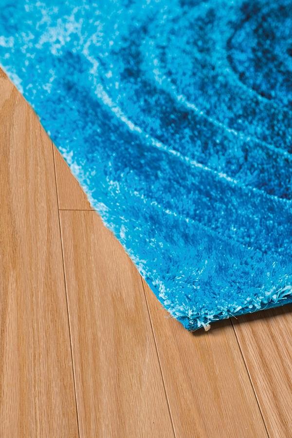 Blue (2100-20960) Shag Area Rug