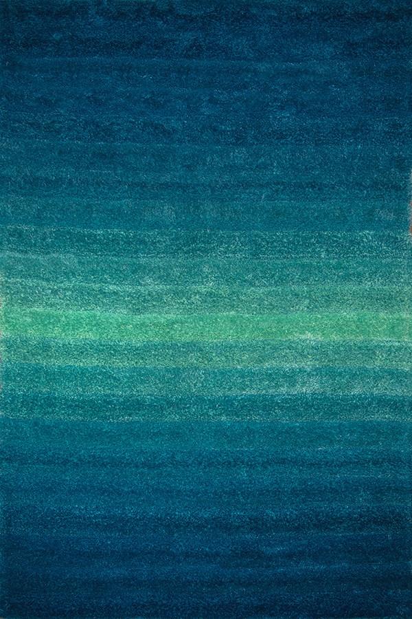 Blue (2100-20760) Shag Area Rug