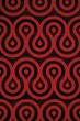 Product Image of Contemporary / Modern Red (950-10230) Area Rug