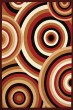Product Image of Contemporary / Modern Red (950-10330) Area Rug