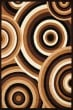 Product Image of Contemporary / Modern Brown (950-10350) Area Rug