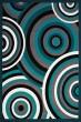 Product Image of Contemporary / Modern Aqua (950-10363) Area Rug