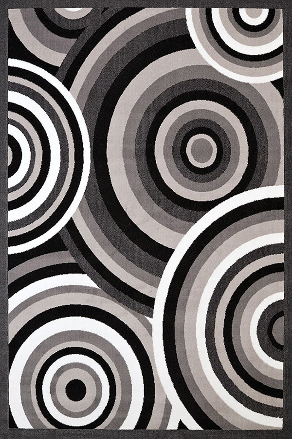 Grey (950-10372) Contemporary / Modern Area Rug