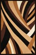 Product Image of Contemporary / Modern Brown (950-10550) Area Rug