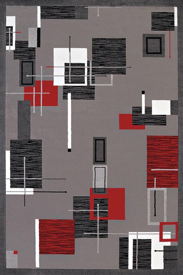 Grey (950-10772) Contemporary / Modern Area Rug