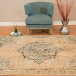 Product Image of Parchment (3000-00419) Mandala Area Rug