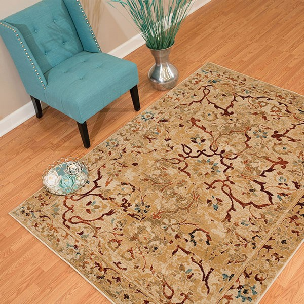 Taupe (3001-00394) Vintage / Overdyed Area Rug