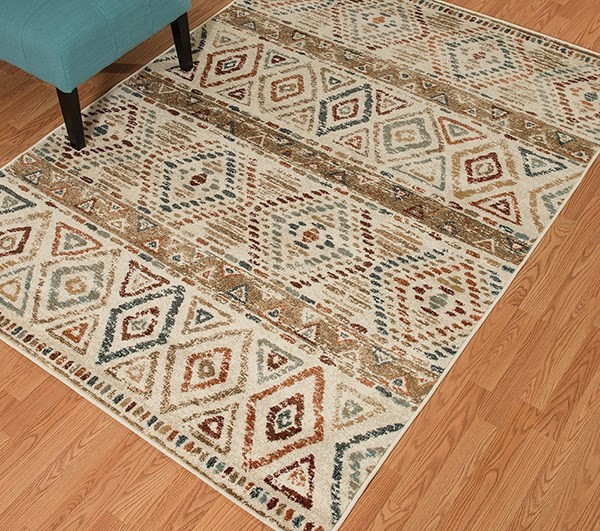 Linen (3001-00675) Southwestern / Lodge Area Rug